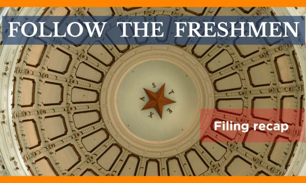 Follow the freshmen: Few bills passed since bill filing deadline