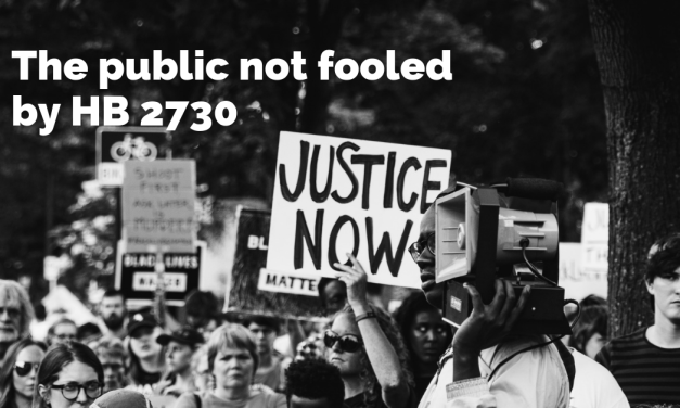 The public not fooled by HB 2730