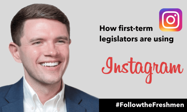 How First-Term Legislators Are Using Instagram