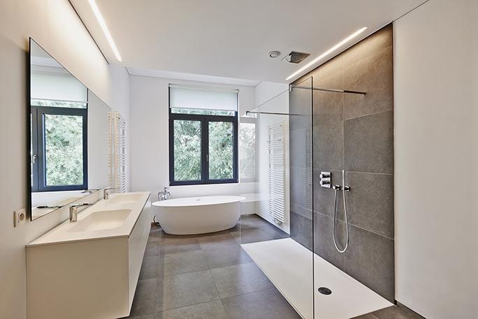 flooring for wet rooms tile vs vinyl