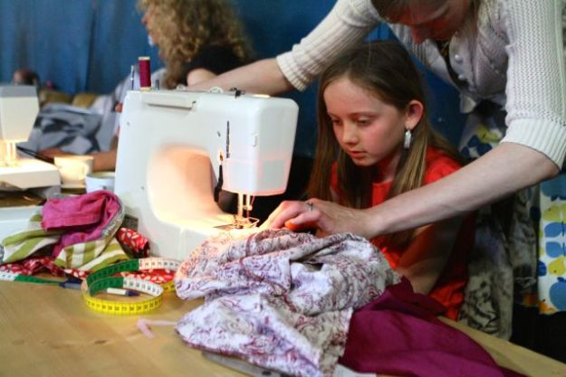 Life-Upcycling: Redesignnerin lehren schnell mal nähen