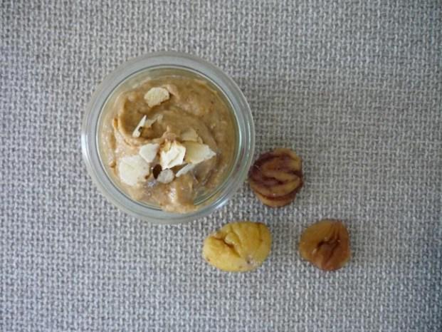 Köstlich: Dessert aus Feigen und Kastanien - zuckerfrei, vegan, gluten- und laktosefrei