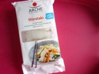 In Bio-Qualität gibt's die Konjac-Nudeln von Arche. 150 g kosten zwischen 4 und 5 Euro.
