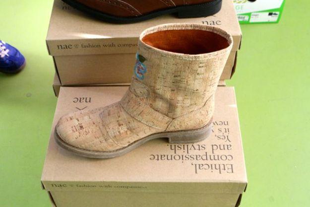 Schuh aus Kork und andere vegane Schuhe von avesu