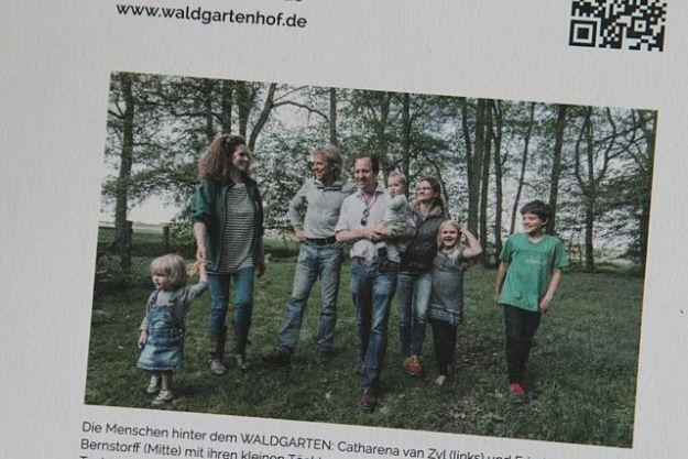 Britta und Dipl.-Ing.agr. Manfred Flegel aus Nienwalde sind Eigner der Waldgarten GmbH & Co. KG