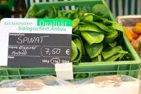 Kochs Spinat aus eigenem Anbau ist unverschämt gut