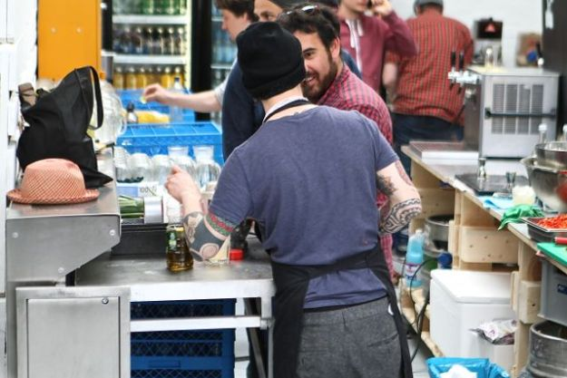 Christián Orellanus und Onur Elci  dürfen bereits ihren ersten United Latin Streetfood Day als Erfolg verbuchen