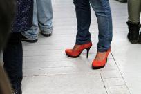 Scharfe Schuhe beim ersten United Latin Streetfood Day