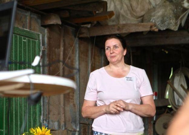 Barbara Maria Rudolf, Vorsitzende des Vereins Saat:gut e.V. - Mitglieder sind Landwirte, Saatgut-Händler, Bioland, Pflanzenzüchter, Großhändler, Einzelhändler und Privatpersonen