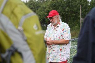Einer der Köpfe des Projekts Saat:gut: Heinz-Peter Christiansen
