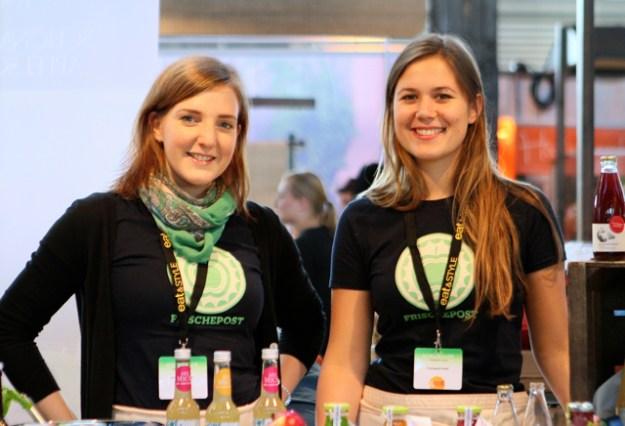 Lisa Kähler und Natalia Kroll von www.frischepost.com