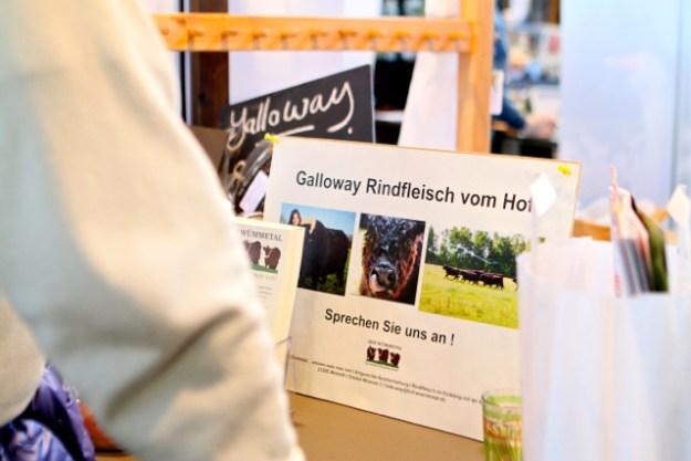 Sind ganzjährig auf der Weide: Galloways vom Hof Wümmetal