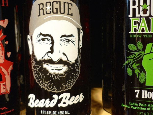 Wohl bekomm's: Beard Beer is brewed with a yeast created from Brewmaster John Maier's beard.