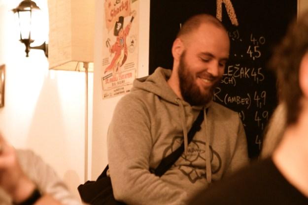 Befreundeter Brauer: Jochen Mader, berühmt für sein Fichtennadelbier Hops & Needles