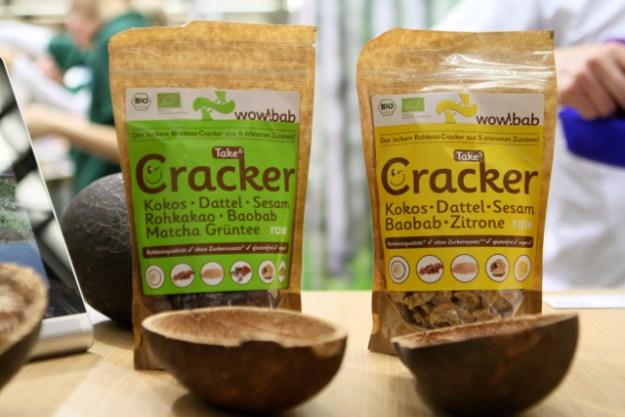 Basis dieser Cracker ist Baobab aus Senegal
