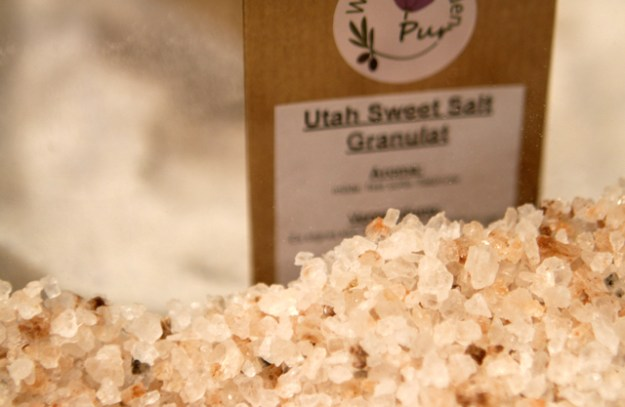 Raffiniert: Süsses Salz aus Utah