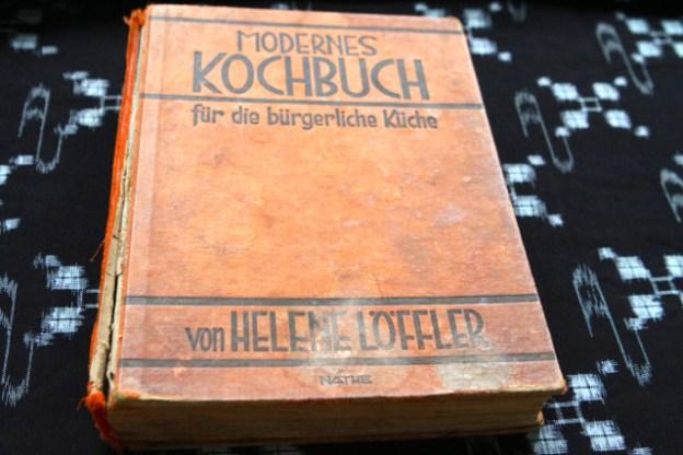 Modernes Kochbuch für die bürgerliche Küche, Helene Löffler, 1927, Minden