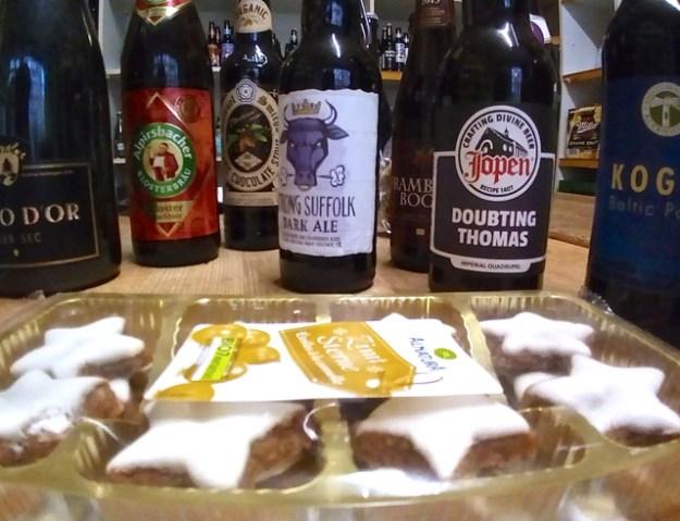 Zimtsterne und englisches Dark Ale - passt das foodpairing?