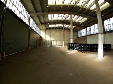 Halle zwei - die Nordhalle von Farmers Cut - hier sollen später Säfte und Pestos fabriziert werden