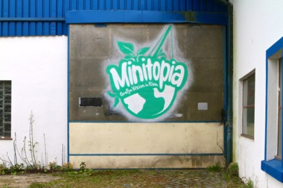 Minitopia Logo Eingangshalle Hamburg Wilhelmsburg