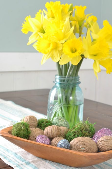 Diy Rustic Easter Eggs Refresh Living