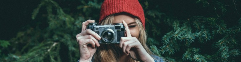 stock image of photographer