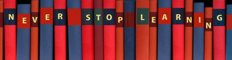 never stop learning - digital marketing courses