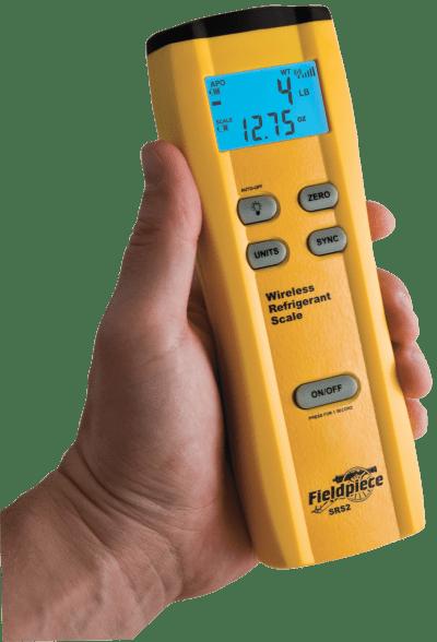 SRS2C Wireless Refrigerant Scale