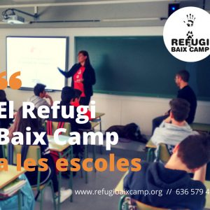 El Refugi Baix Camp A Les Escoles