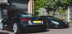 Gen 1 R8 V10 Plus Gets More Bark with Brooke Race Exhausts