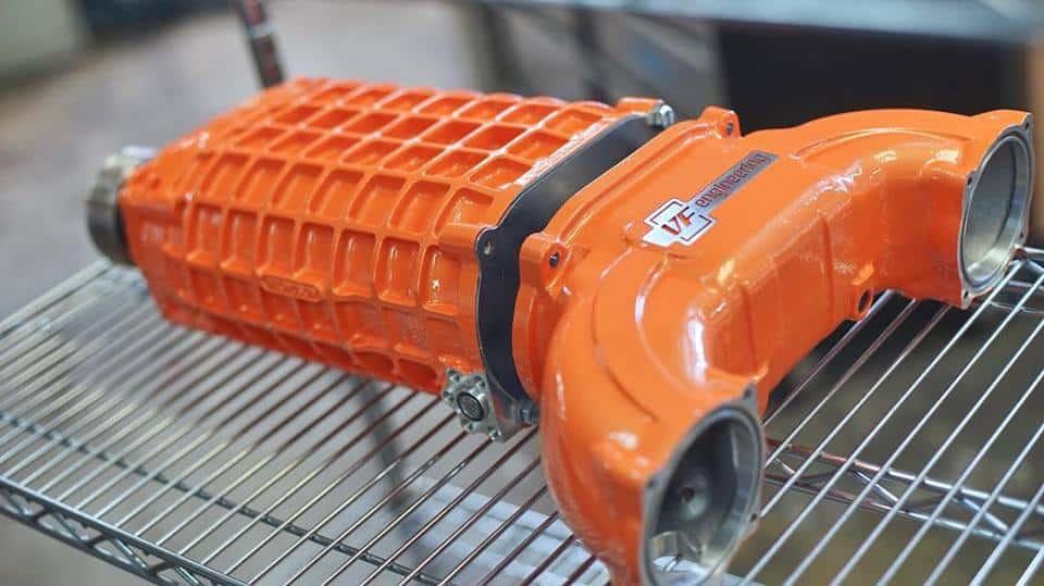 Supercharger conversion
