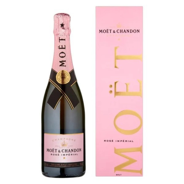 Moet & Chandon Rose Imperial - Rosé Sparkling Wine from Champagne, France