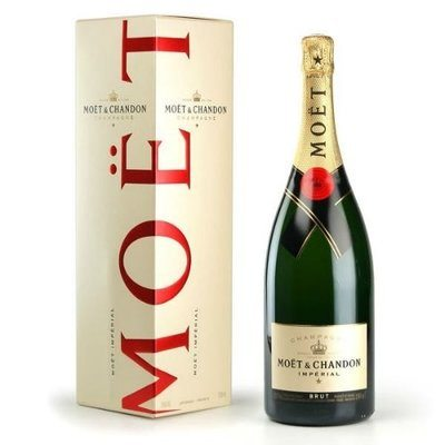 Moet & Chandon Imperial Non-Vintage Sparkling Wine from Champagne, France