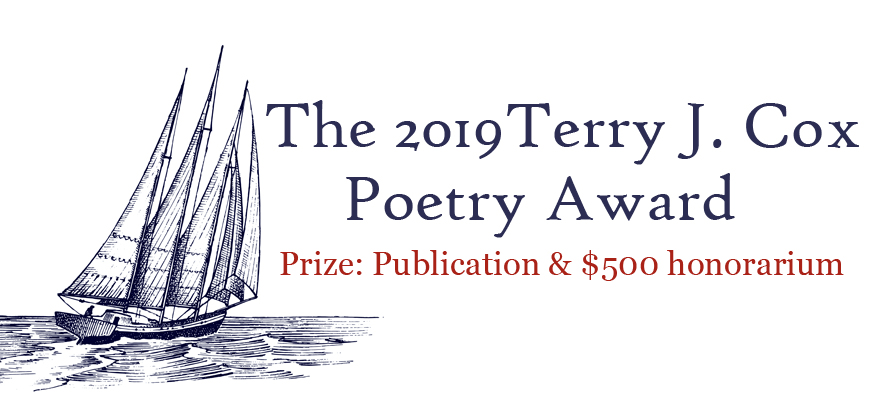 2019 Terry J Cox Poetry Prize, Regal House Publishing