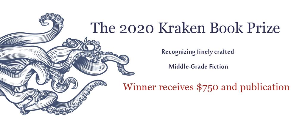 2020 Kraken Book Prize for Middle Grade Fiction