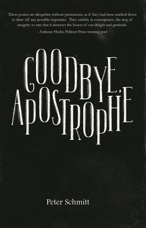 Goodbye, Apostrophe by Peter Schmitt