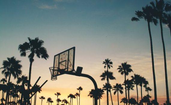 pallacanestro al tramonto gadget basket