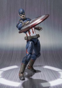 action figure capitan america snodabile