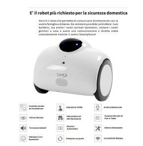 robot di sorveglianza domestica