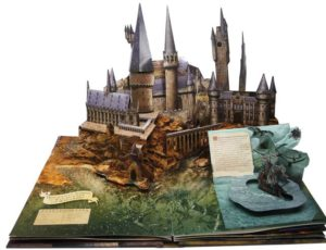 libro pop up hogwarts