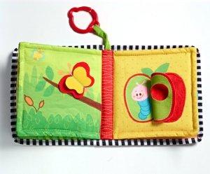 giocattoli per neonati libri per neonati in tessuto