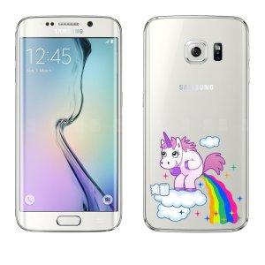 cover per smartphone unicorno