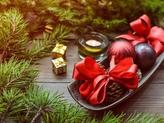 Decorazioni natalizie addobbi per le festività