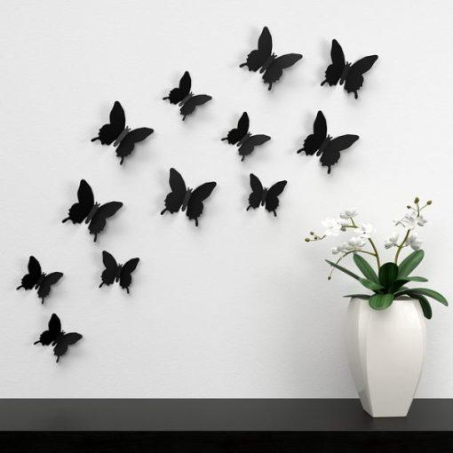 adesivi per pareti farfalle in volo