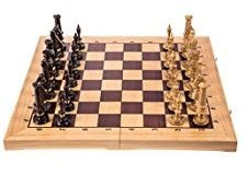 scacchiera in legno