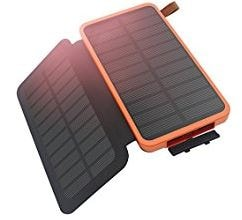 caricabatterie smartphone a pannelli solari