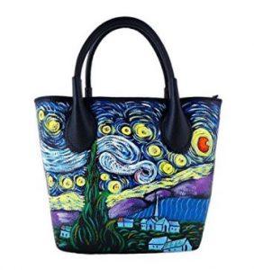borsa donna dipinta a mano regali per lei