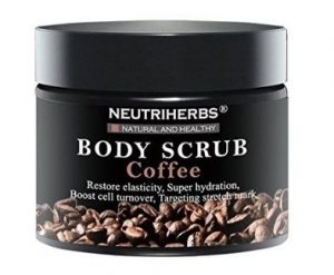 body scrub al caffè