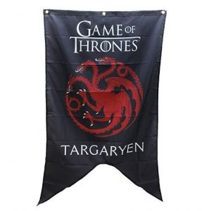 stendardi game of thrones casa targaryen
