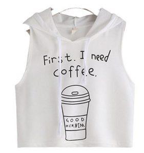 maglietta caffè